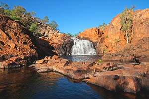 Waterfall at Kakadu Park, Northern Territory of Australia